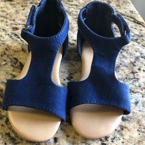 Like New | Blue Toddler Girls Sandals